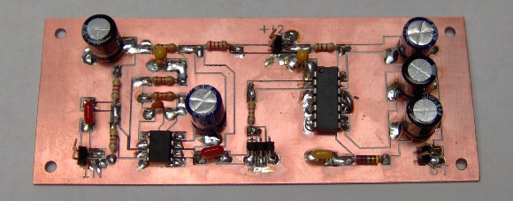 Assembled audio module