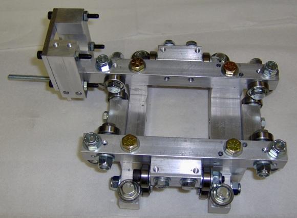 CNC carriage assembly.