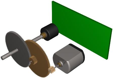 Servo instruments for Rc car servo motor