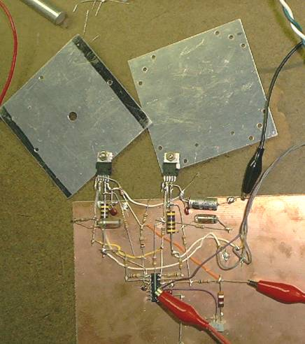 Deflection amp prototype