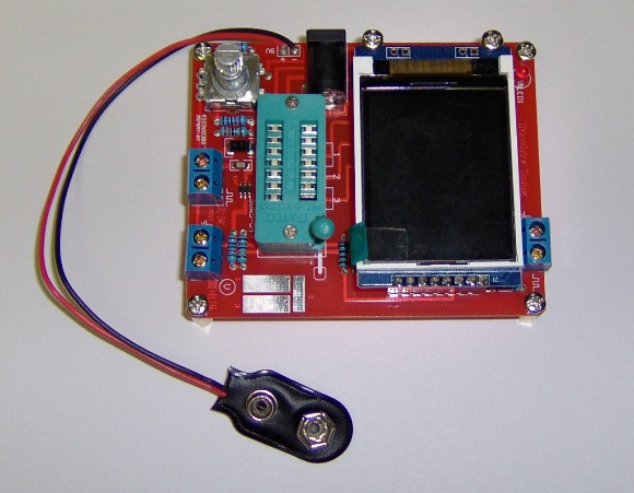Assembled component tester