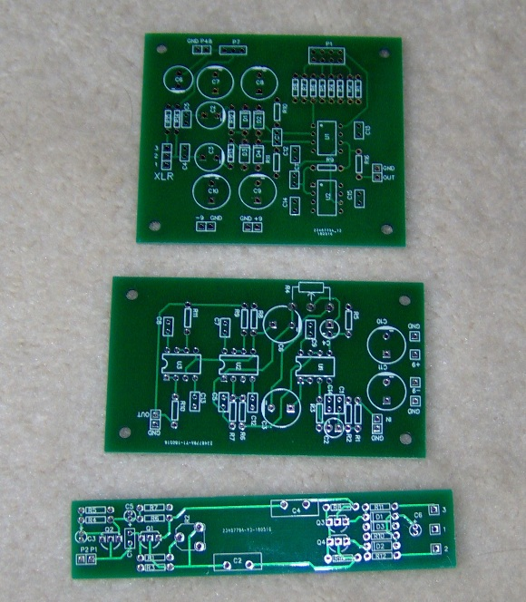 First PCBs from JLCPCB