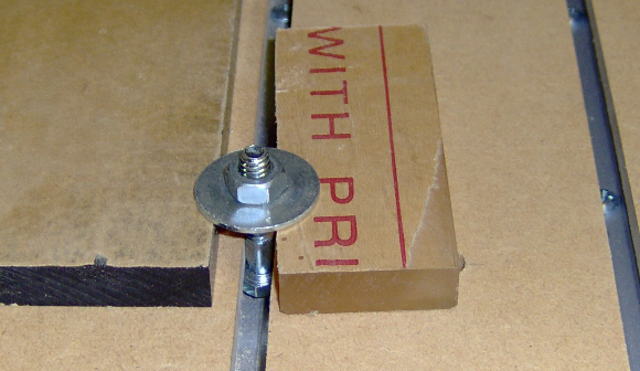 C-channel clamping with nut