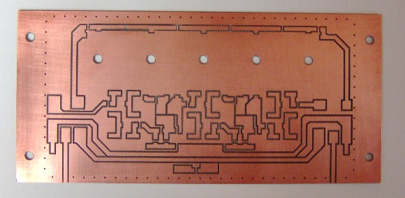 Resolution filter circuit board